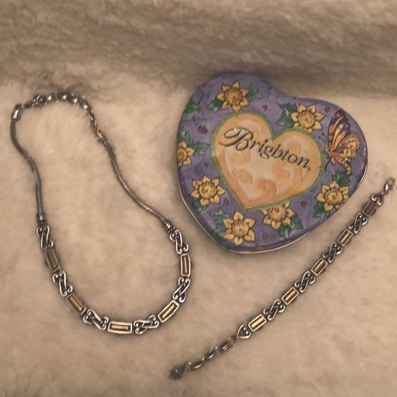 Brighton Vintage Necklace and Bracelet Set
